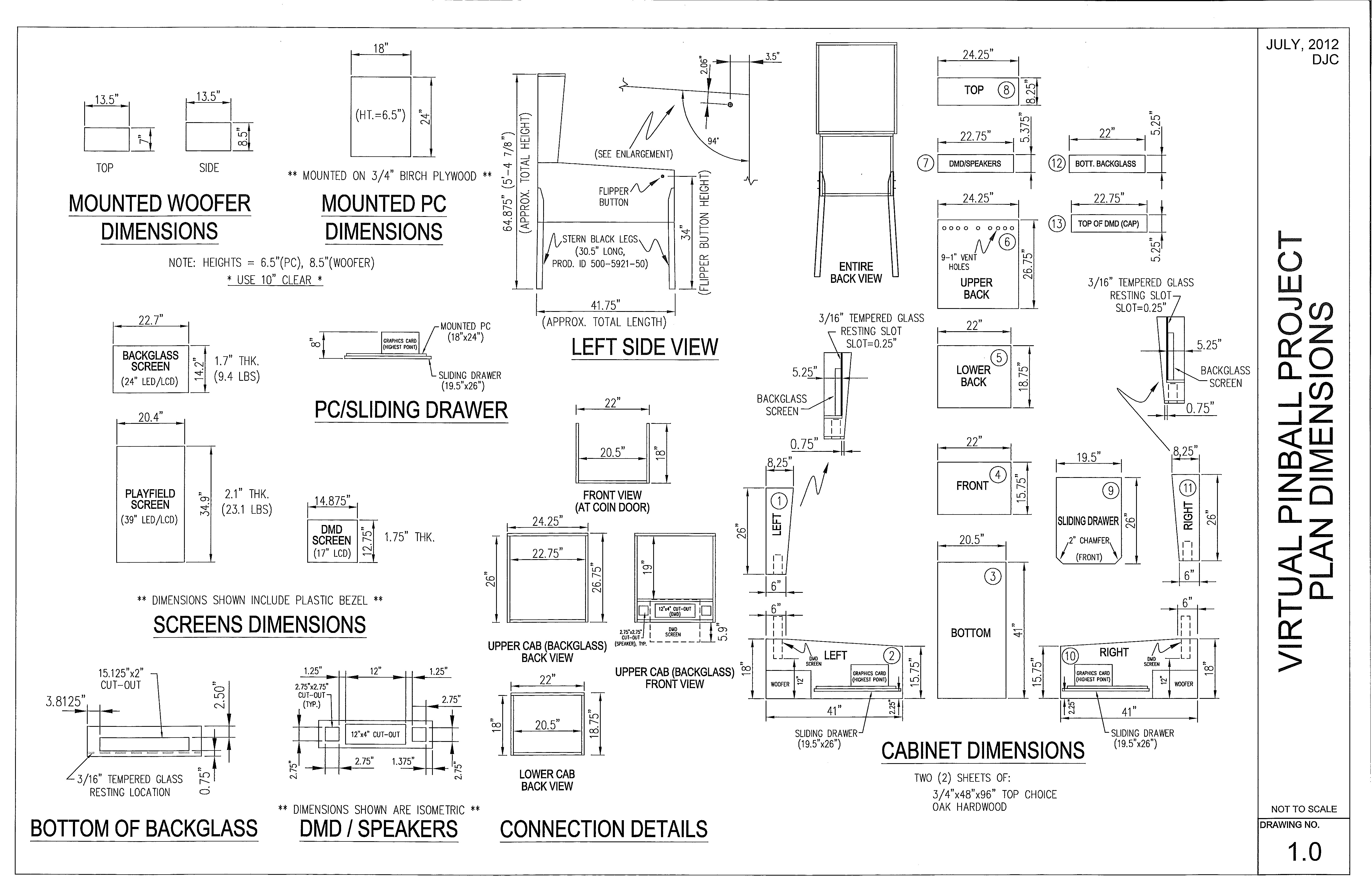 September 2012 markwheeler for Build kitchen cabinets plans